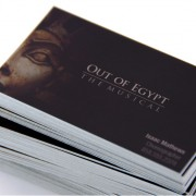 Premium glossy business cards