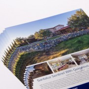 Full color real estate flyers