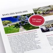 Full color real estate copies